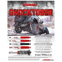 Rancho Performance Suspension & Shocks Shocktober Rebate